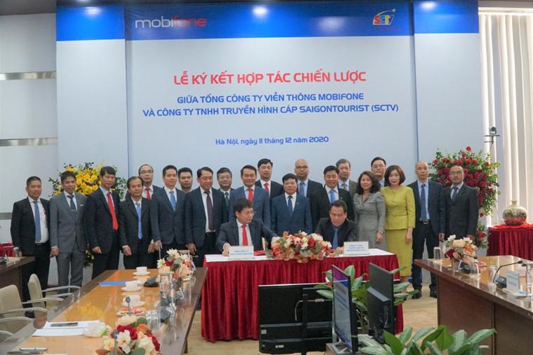 MobiFone và SCTV ký kết hợp tác chiến lược toàn diện