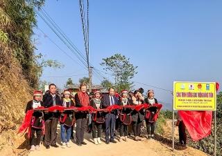 Hỗ trợ 1.200 người dân tộc thiểu số ở Hà Giang