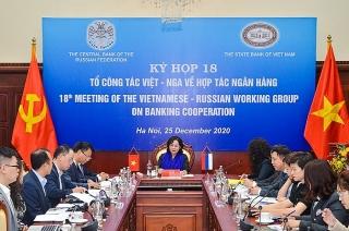 Việt Nam - Liên bang Nga: Tăng cường hiệu quả hợp tác lĩnh vực ngân hàng