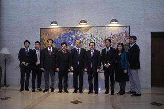 Đại sứ Nhật Bản tại Việt Nam tiếp và làm việc với VietinBank