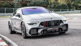 [Video] Siêu phẩm Mercedes-AMG GT 63S 900 mã lực với gói độ từ Brabus