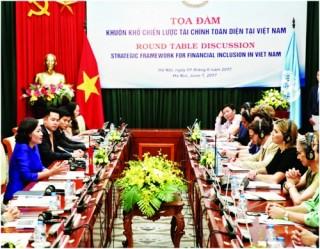 Việt Nam nỗ lực thúc đẩy tài chính toàn diện