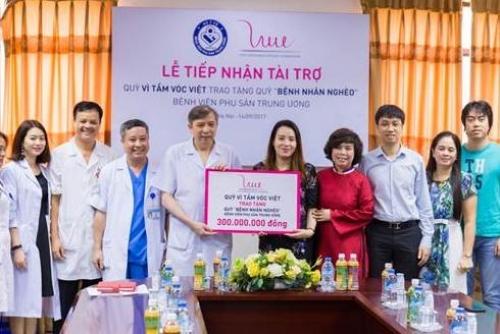 Quỹ vì tầm vóc Việt: Tặng 300 triệu đồng cho bệnh nhân nghèo