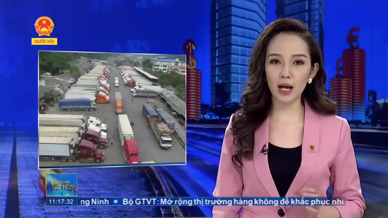 Hàng trăm xe, hàng chục nghìn tấn hàng hóa ùn ứ tại cửa khẩu 3 tỉnh biên giới