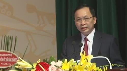 Phó Thống đốc Đào Minh Tú phát biểu tại Đại hội Công đoàn NHVN