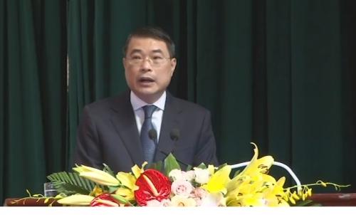Thống đốc NHNN Lê Minh Hưng phát biểu tại Đại hội Công đoàn NHVN